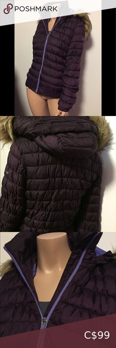 Rich plum Merrell winter hooded coat Brand new! NWOT Hood has removable faux fur for versatility! Super cozy and lightweight. Fits Medium (see mannequin) but fits me as a small chested, larger shouldered Large. Merrell Jackets & Coats Line Jackets, Jackets For Women, Lululemon Hoodie, Hooded Winter Coat, Charlotte Russe Dresses, Jacket Buttons, Plus Fashion, Fashion Tips, Fashion Trends