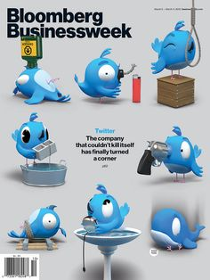 Twitter´s suicide on the Businessweek cover, Friday 2. 3. 2012