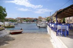 Agios Nikolaos Greece Pictures, Visit Greece, Peaceful Places, Travel Guide, Places To Go, Island, Holidays, Beach, Block Island