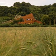 Mark Merer has created a studio for himself and his wife near the small town of Somerton in Somerset, England.