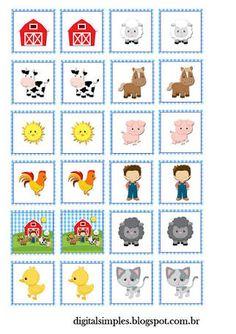 Resultado de imagem para animais da fazendinha para imprimir