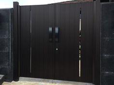 Gate Series — KunkelWorks Front Gate Design, Door Design, Tall Cabinet Storage, Locker Storage, Front Gates, Iron Doors, Home Decor, Front Door Design, Front Doors