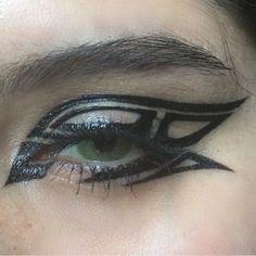 Punk Makeup, Edgy Makeup, Makeup Eye Looks, Creative Makeup Looks, Pretty Makeup, Skin Makeup, Makeup Inspo, Makeup Art, Makeup Inspiration