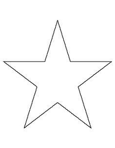 8 Inch Star Pattern
