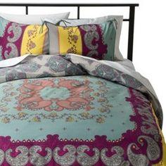 Boho Boutique® Lola Reversible Duvet Cover Set : Target
