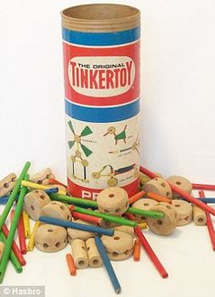 129 Best Lincoln Logs Tinker Toys Images Retro Toys Baby Toys