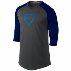 88f398b7c Details about Nike Pro Combat Fitted DRI-FIT Baseball 3/4 Sleeved ...
