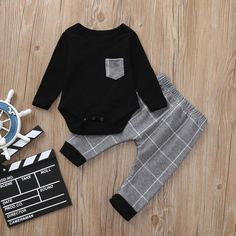 Plaid Pants+Waistcoat Overalls Gentleman Suit Clothing Gift for Baby,erthome Toddler Kids Baby Boys Shirt