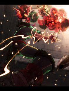 Boku no Hero Academia || Midoriya Izuku, Katsuki Bakugou.