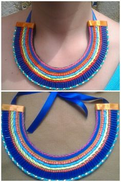 Statement necklace colorful and summerish! sold