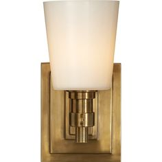 Bathroom sconces with shades