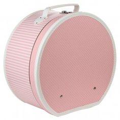 Caja para Sombrero de Lunares y Rayas Cajas Para Sombreros be13a3c3c86