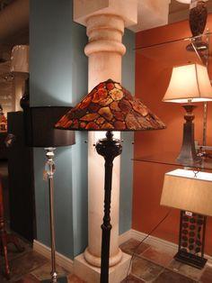 Love this floor lamp #GELighting