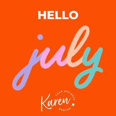 Hello July! - who'd have thought that 6 months ago that by July we would have spent half of that time in lockdown? We didn't even know what lockdown meant!  If you are feeling deflated looking back to the beginning of 2020 and all those ideas, goals and plans you set and that think that it's really not going to happen.   Don't let it get you down, you can't change the past.  But the thing about being a business owner is that you are in charge, you are the boss, you can make decisions… Karen Taylor, My Strength And Weakness, Hello July, What Is Work, Be The Boss, Support Small Business, Getting Things Done, Looking Back, 6 Months