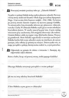 Użyj STRZAŁEK na KLAWIATURZE do przełączania zdjeć Learn Polish, Polish Language, Learning, Words, School, Speech Language Therapy, Literatura, Activities, Cuba