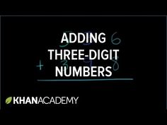 Adding 3-digit numbers | Adding with regrouping within 1000 | Addition and…