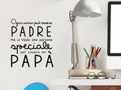 Wallsticker decorazione Papa speciale