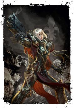 Codex: Adepta Sororitas by Raymond Swanland.