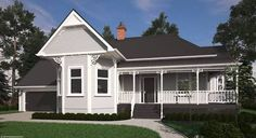 Colonial House Plans Open Concept - Home Design Victorian House Plans, Colonial House Plans, Victorian Homes, Villa Plan, House Plan With Loft, New House Plans, Kitchen Island Ideas Uk, Kitchen Ideas, Weatherboard Exterior