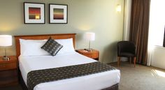 A Superior Room at Rydges Camperdown. Superior Room, Sydney, Bed, Furniture, Home Decor, Decoration Home, Stream Bed, Room Decor, Home Furnishings