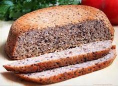 Buckwheat bread with linseed - recipe from Smaker. Buckwheat Bread, Banana Bread, Ice Cream, Baking, Desserts, Recipes, Breads, Drink, No Churn Ice Cream