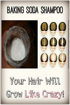 Your Hair will Grow Like Crazy With This Baking Soda Shampoo #SilkySmoothHair
