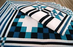 Vintage Quilted Place Mats  Set of 6 by Puraanik on Etsy, $45.00