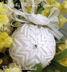 Winter Wonderland Quilted Ornament
