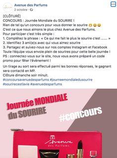 Journée mondiale du sourire - Avenue des Parfums October 2, Pageants