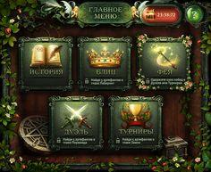 Prepuzzle - HTML5 game for iPad by Dmitriy Fomenko, via Behance
