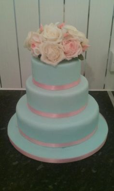 duck egg blue wedding cake wedding on duck egg blue vintage weddings and 13774