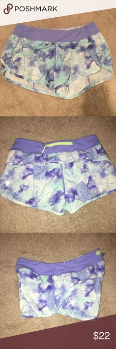 Galaxy/Marble Pattern Ivivva Shorts Like new. No holes or stains. DON'T BE AFRAID TO MAKE OFFERS!! Ivivva Shorts