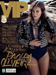 Paolla Oliveira é eleita a mulher mais sexy de 2013 | S1 Notícias