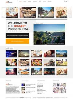 48Hours is fully responsive marvelous multipurpose WordPress #theme for #video sharing #website. Download Now!