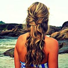 Wavy natural braid