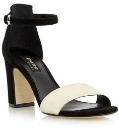 Pin for Later: How to Pull Off Little Mix's Prom Queen Chic  Dune May Two Part Block Heel Sandals (£130)