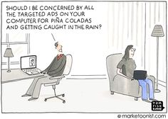 Marketoonist is the thought bubble of Tom Fishburne. Marketing cartoons, content marketing with a sense of humor, keynote speaking. Content Marketing, Social Media Marketing, Digital Marketing, Funny Advertising, Ads, Friday Humor, Funny Friday, Geek Humor, Funny Humour