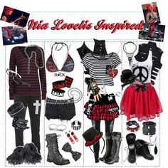 """Nia Lovelis Inspired"" by xxxbloodyrosexxx on Polyvore"