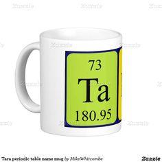 Rebecca periodic table name mug periodic table names and periodic tara periodic table name mug urtaz Choice Image