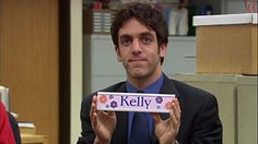 The Office. No other show can make me feel so uncomfortable while I watch it. The Office Ryan, Best Of The Office, The Office Show, Kelly Kapoor, Threat Level Midnight, The Office Characters, Office Memes, Office Quotes, Office Icon