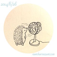 I want to be this hedgehog.