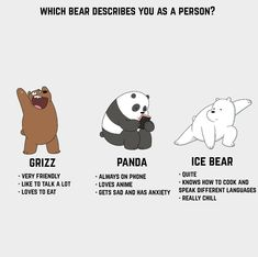 Wow, I'm Ice Bear for sure We Bare Bears Wallpapers, Panda Wallpapers, Cute Cartoon Wallpapers, Bears Game, 3 Bears, Cute Bears, Crazy Wallpaper, Bear Wallpaper, Bear Cartoon