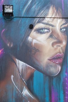 Mural by Adnate in Preston Australia. #street #art
