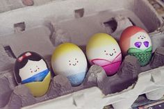 Back with Easter eggs