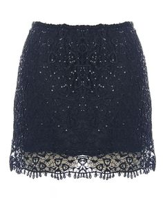 Venetian Glitter Skirt
