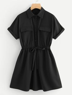 Black Dress Outfits, Edgy Outfits, Cute Casual Outfits, Pretty Outfits, Dress Black, Stylish Dresses For Girls, Stylish Dress Designs, Cute Dresses, Cheap Dresses