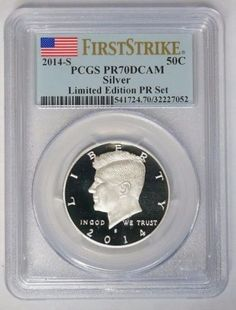 2014-S-50C-Silver-Kennedy-Half-Dollar-Limited-Edition-PCGS-PR70DCAM-First-Strike