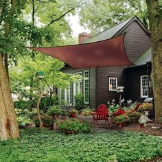 Timber Pergola, Cedar Pergola, Pergola With Roof, Outdoor Pergola, Pergola Shade, Pergola Plans, Outdoor Decor, Patio Roof, Pergola Kits
