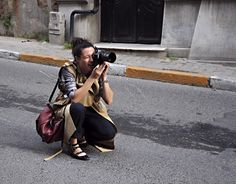 garance dore at work, by Nil Erturk