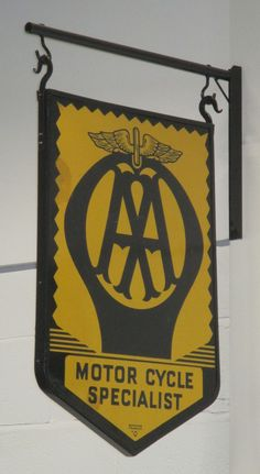AA approved garage sign photographed at the Black Country Museum